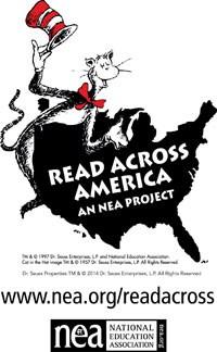 Read Across America Image (Cat in the Hat/U.S. Map)