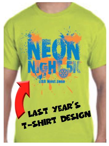 Neon Night 5K Run and T-Shirt Contest