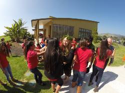 Maisey Rika visits Kanu o ka ʻĀina campus!
