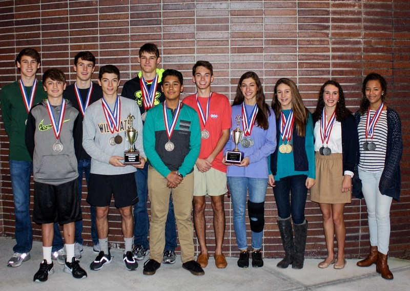 VHS Swim Team Finishes Second in Region