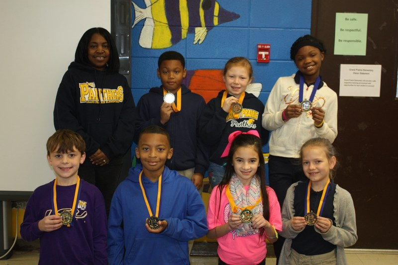 4th Graders Participated in our School's Science Fair