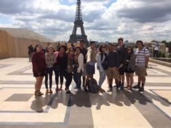 Crockett Art Students Tour Europe