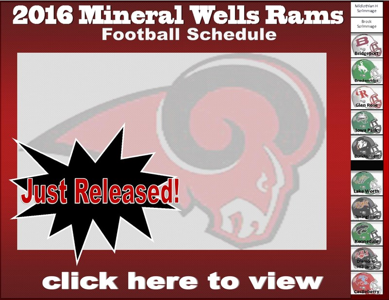 2016 Rams Football Schedule Announced
