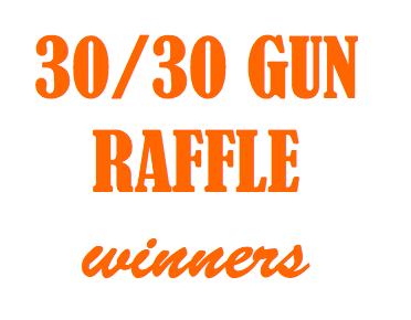 30/30 Gun Raffle Winners Thumbnail Image
