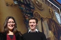 Congratulations to our Valedictorian, Carla Murillo, and Salutatorian, Liam Farrell for the Class of 2015.
