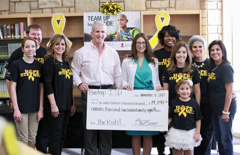 Bastrop ISD HopeStrong raises $19,298 for St. Jude