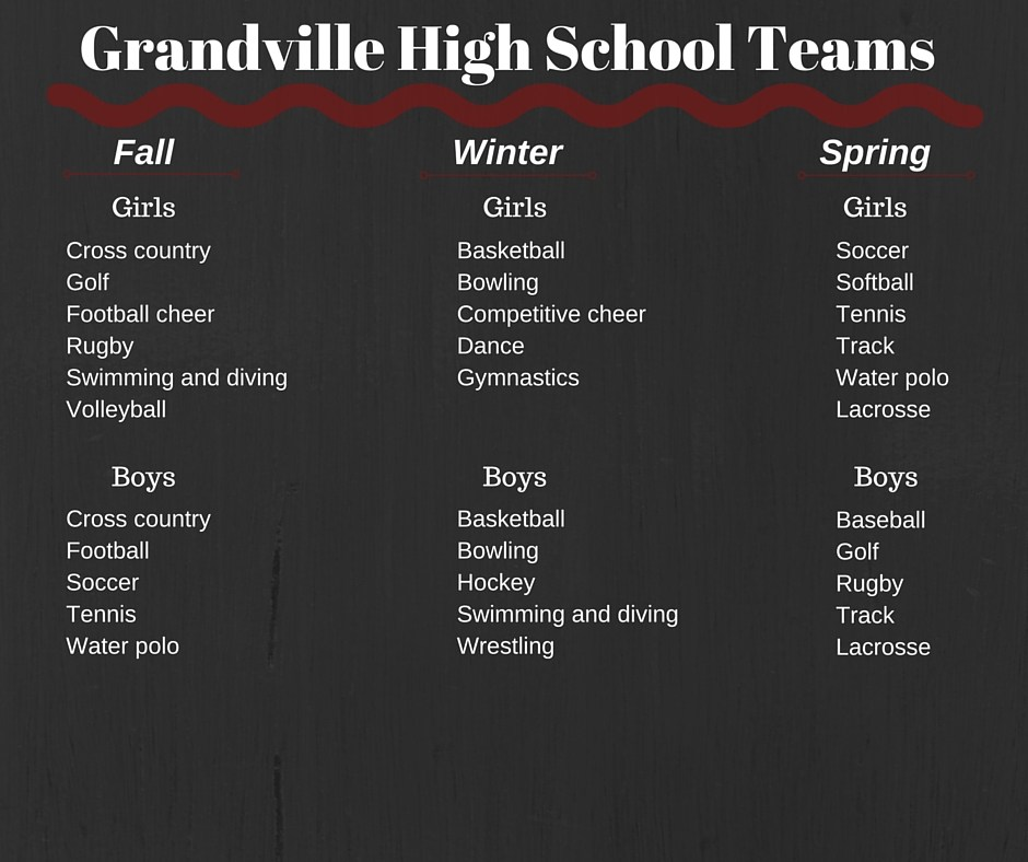 sports offered by season