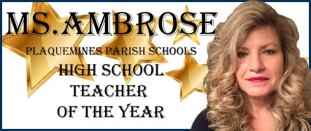 High School Teacher of the Year Thumbnail Image