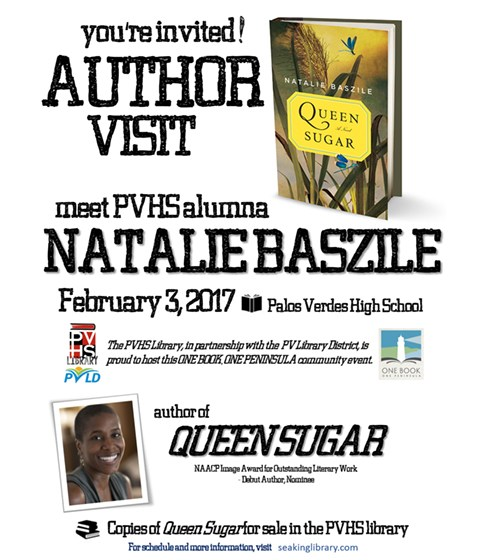 Author Visit - PVHS Class of 1984 Alumna Natalie Baszile