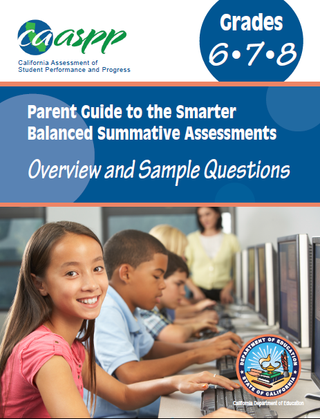 Parent Guides For The Summative Assessment For SBAC In English And Spanish.