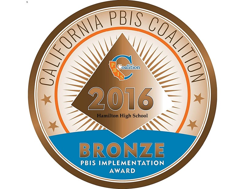 Bronze Medal awarded to HHS for Excellence in PBIS Implementation.