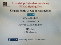 Friendship Collegiate Academy Signing Day Celebration Live Video Stream!