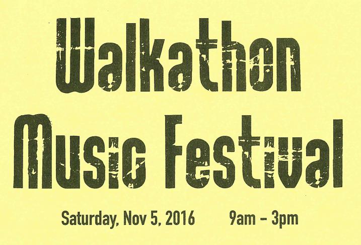 SAVE THE DATE: Noddin's Annual Walkathon. Thumbnail Image