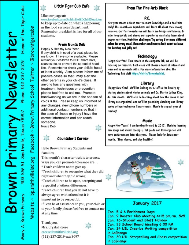 January Newsletter Thumbnail Image