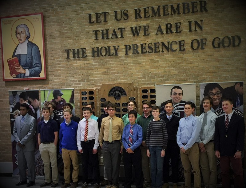 St. Joe's Announces Brother Pompian Honors Academy Inductees
