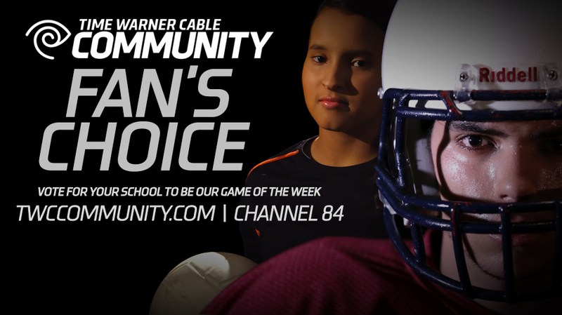 Time Warner Cable Releases Fan's Choice Football October 9 Game of the Week Options