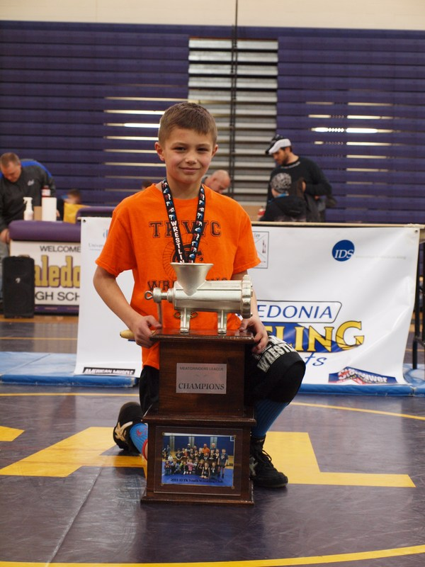 Gavin DeVore won a trip to the Detroit Lions Thanksgiving Day football game.