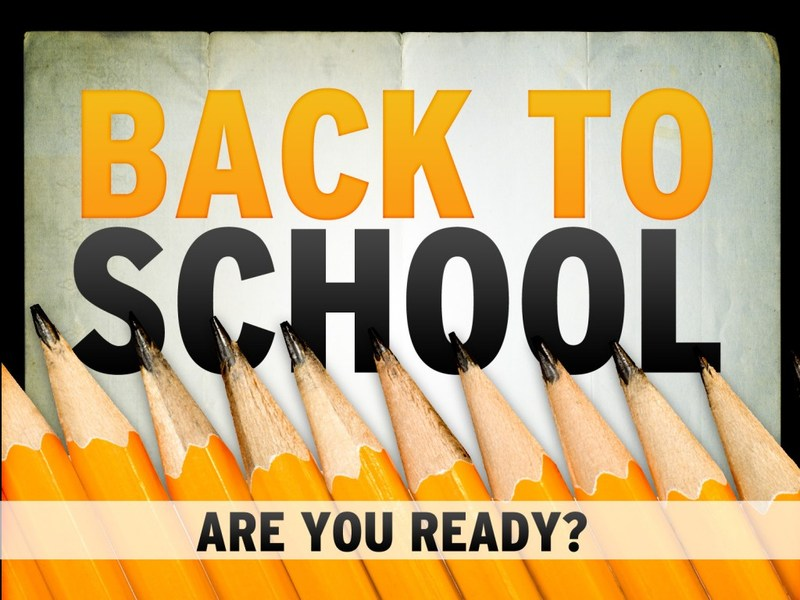Back to School Registration Days are Here!
