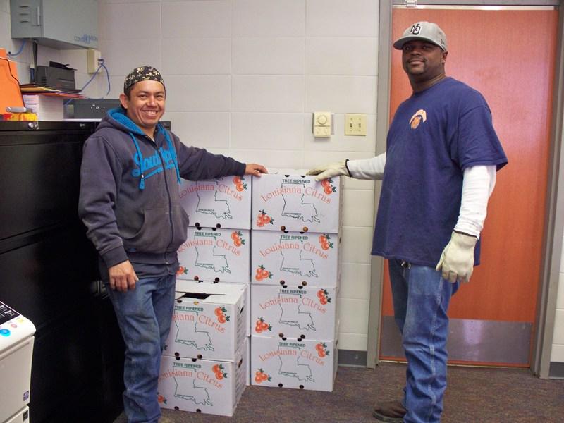 Fab-Con Donates Oranges to BVES Thumbnail Image