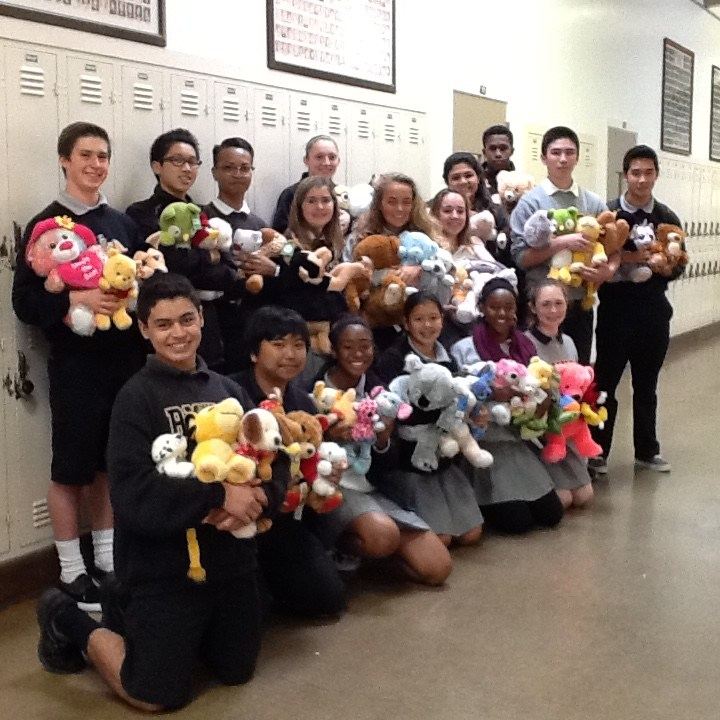 Students Collect Stuffed Animals for Cause