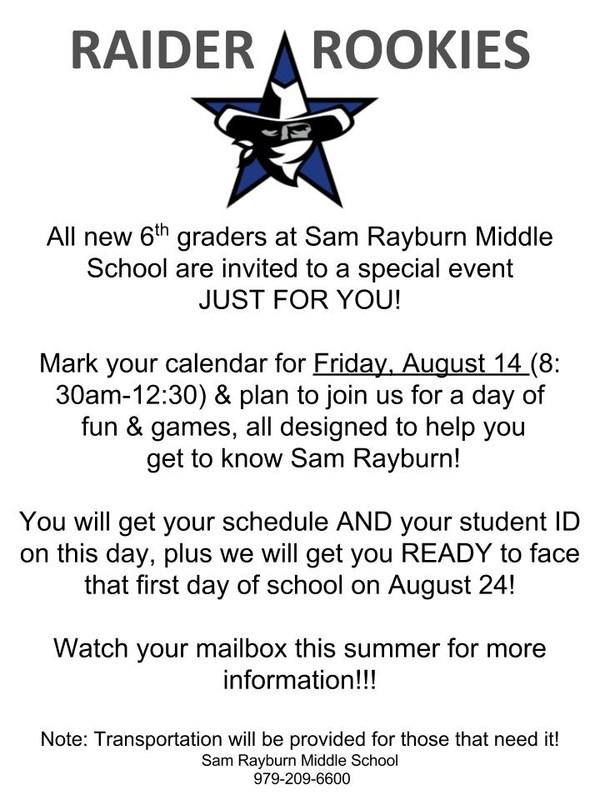 Rookie Raider Camp