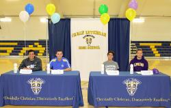 CLHS Student-Athletes Sign Athletic Scholarship Offers