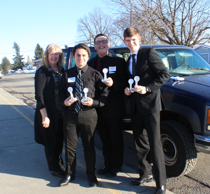 MLHS FBLA Competition Thumbnail Image
