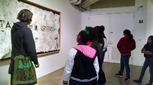 5th graders learn how to recycle through art