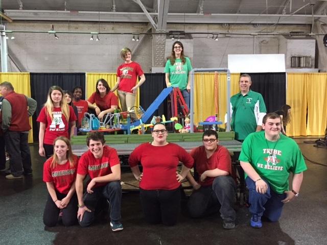 Rube Goldberg takes top honors at Purdue!! Thumbnail Image