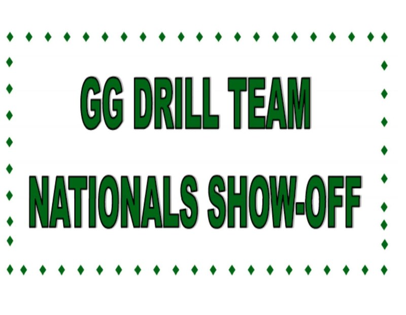 GG Drill Team Nationals Show Off (text only)