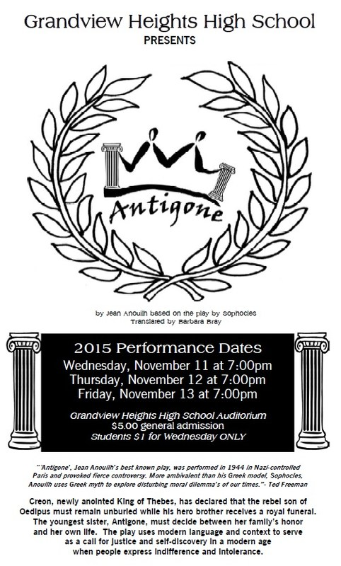 Fall Play Information, New Dates