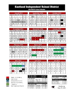 2014-2015 EISD Calendar