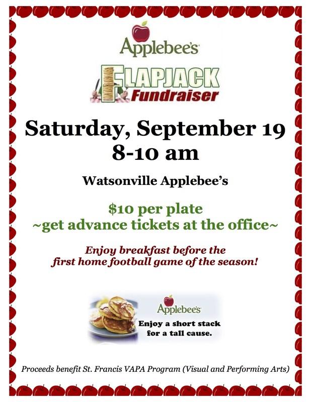 Applebee's Flapjack Fundraiser (9/19)