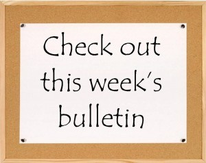 This Week's Bulletin (Week of February 8th, 2016)