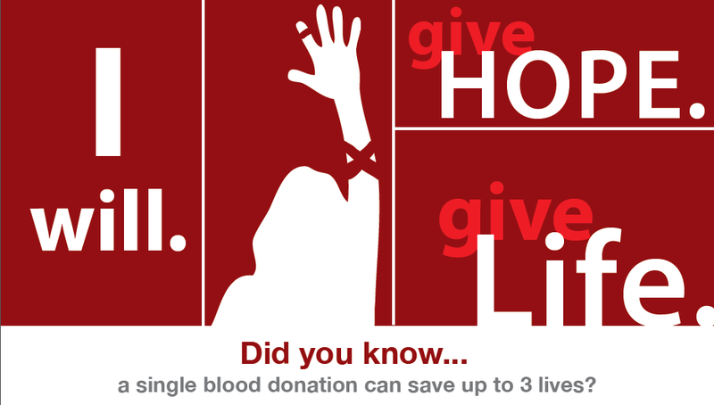 ASB BLOOD DRIVE September 11th, 2015