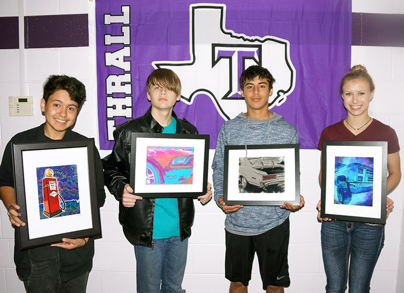Eleven Students Featured in Taylor Art Show Thumbnail Image