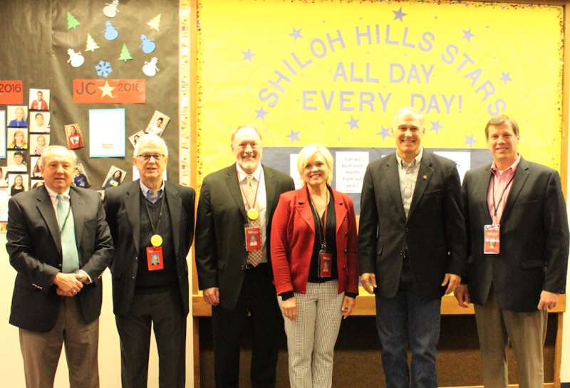 Governor Inslee Visits Shiloh Hills Elementary Featured Photo