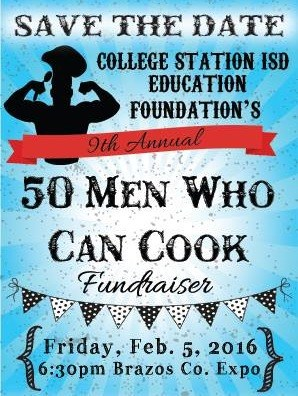 9th Annual 50 Men Who Can Cook Fundraiser