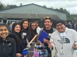 BOLSA KNOLLS ROBOTIC TEAMS SHINE AT APTOS HIGH SCHOOL COMPETITION (5/9/15)