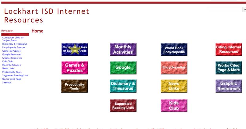 LISD Internet Resources