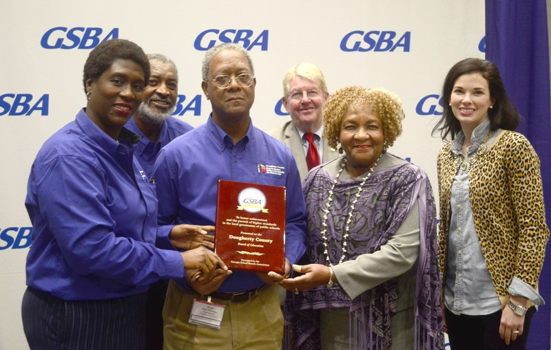 Dougherty County Board of Education named 'Distinguished Board' by GSBA Thumbnail Image