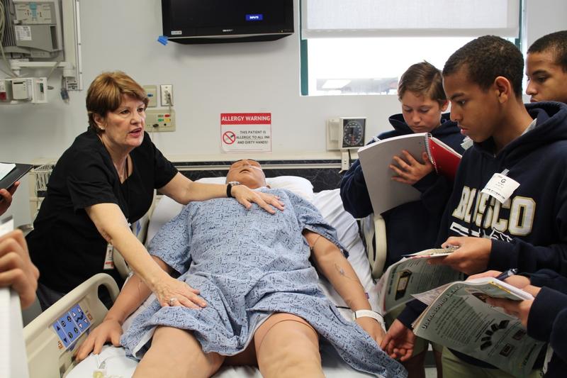 St. John Bosco High School Students visit Long Beach Memorial to  Explore Careers in Health Care