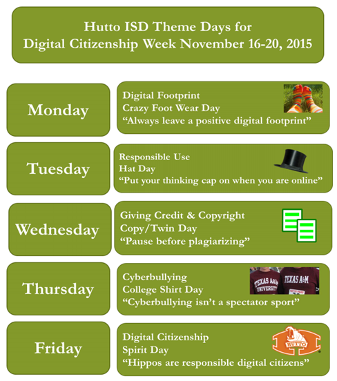Digital Citizenship Week Nov. 16-20