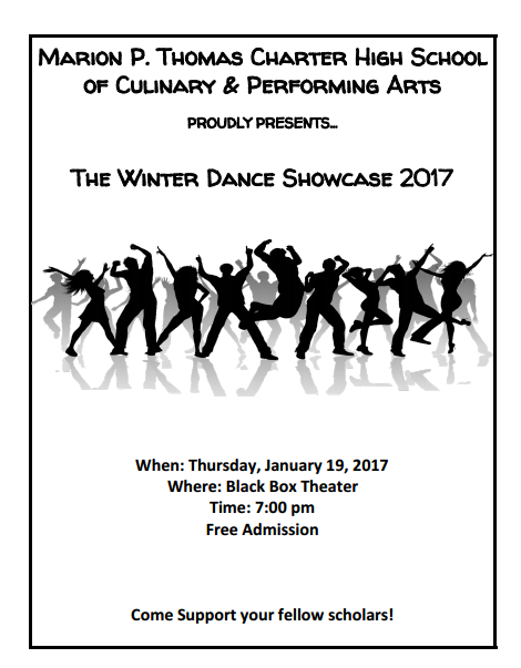Winter Dance Showcase - January 19 at 7 p.m. Thumbnail Image