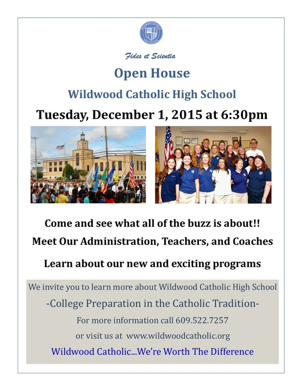Wildwood Catholic Open House