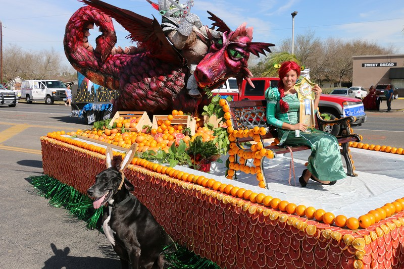 Mission CISD entries in Parade of Oranges earn awards