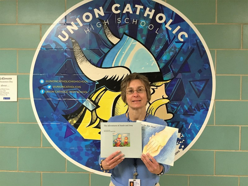 Union Catholic teacher Lisa Kawalec is a very successful author Thumbnail Image