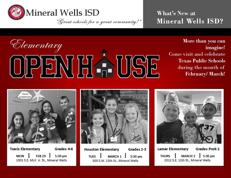 Celebrate Texas Public Schools During Open House @ MWISD