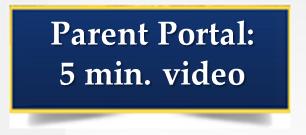 The 5 minute Parent Portal Registration Thumbnail Image