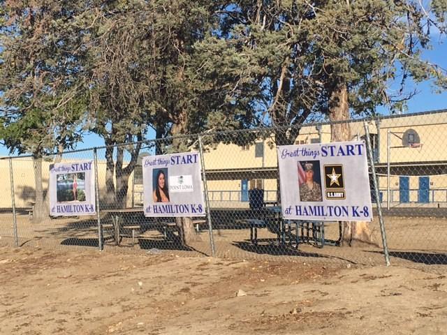 Hamilton K-8 Banners